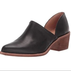NEW Madewell Brady Lowcut Bootie Black Size 5.5